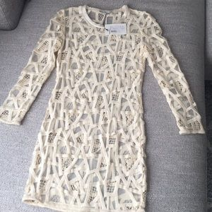 IRO Paris Dress Ecru 38